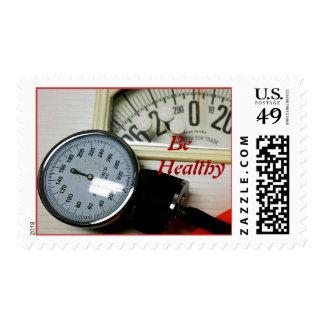 Sea sano sellos postales