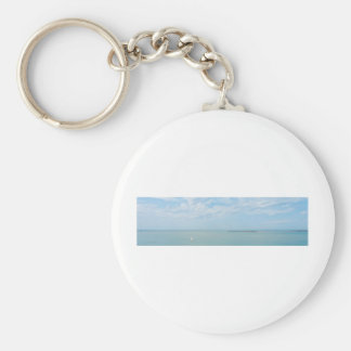 sea scape coming home basic round button keychain