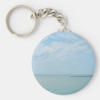 sea scape coming home keychains