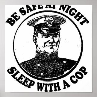 Sea seguro en la noche. Ingenio del sueño Impresiones