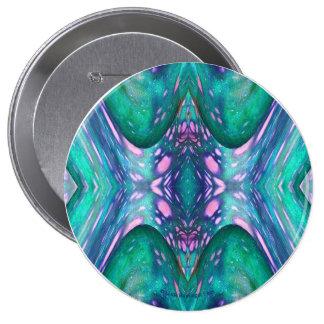 Sea Serpent Abstract Button
