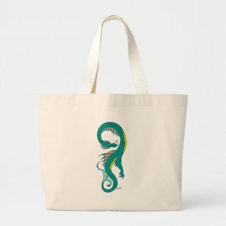 Sea Serpent Canvas Bag