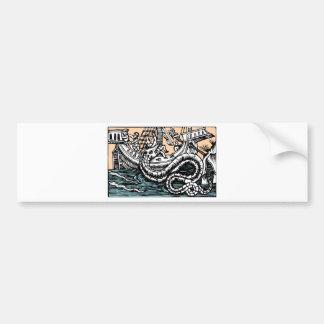 Sea Serpent Bumper Sticker