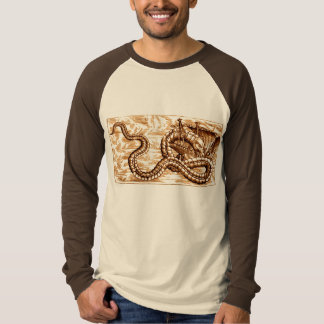 SEA SERPENT DEVOURING SHIP T-Shirt