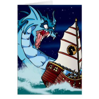 Sea Serpent Drama Card