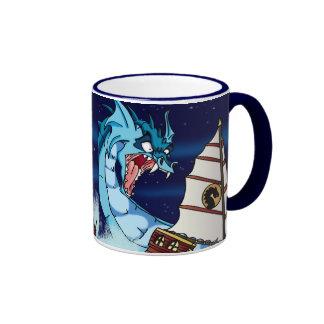 Sea Serpent Drama Coffee Mug