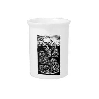 Sea Serpent Beverage Pitcher