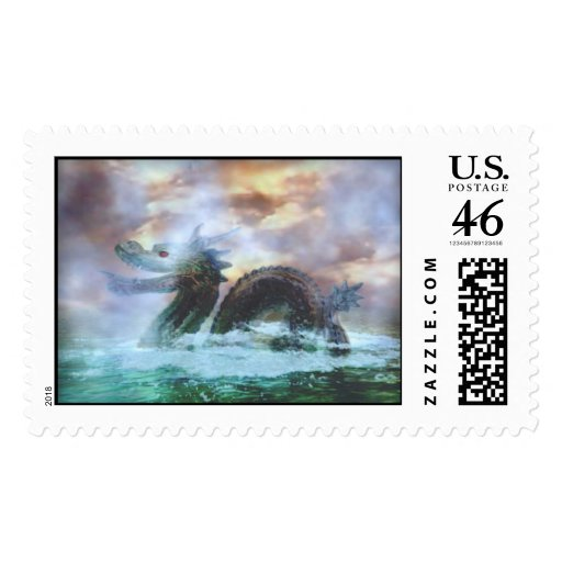 Sea Serpent Stamps
