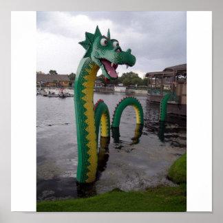 Sea Serpent Print
