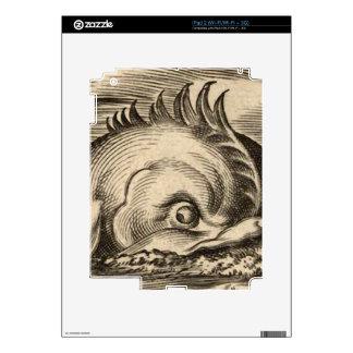 Sea Serpent Riding a Wave iPad 2 Skin