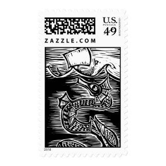 Sea Serpent Stamp