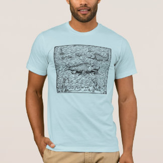 Sea Serpents and Whaling Ships T-Shirt