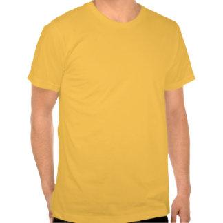 Sea severo con imagen trasera camisetas
