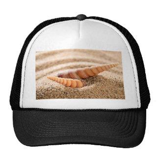 sea sheells at beach trucker hat