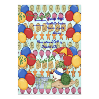 Sea Shell 2nd Birthday Card