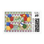 Sea Shell 2nd Birthday Postage Stamp