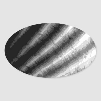 SEA-SHELL 3 OVAL STICKER