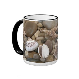 Sea Shell Background mug