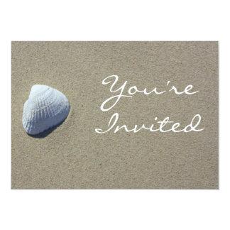 Sea Shell Beach Invitation