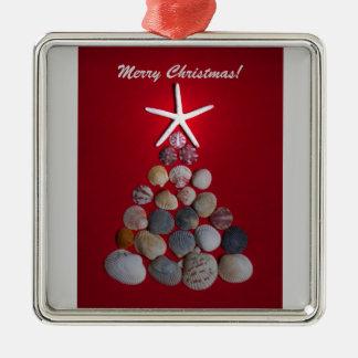 Sea Shell Christmas Tree Christmas Ornaments