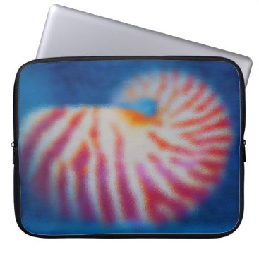 Beach Themed Sea Shell Computer Sleeve