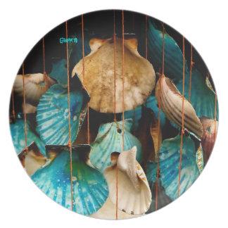 Sea Shell Dinner Plate