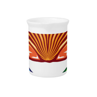 Sea Shell Drink Pitcher