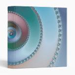 Sea Shell - Fractal 3 Ring Binder