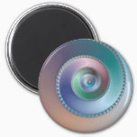 Sea Shell - Fractal Magnet