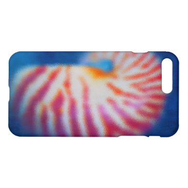 Beach Themed Sea Shell iPhone 8 Plus/7 Plus Case