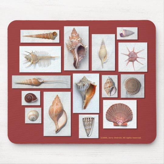 Sea Shell Mouse Pad