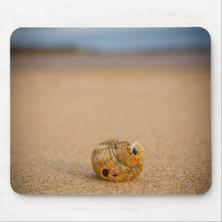 Sea Shell on the Beach Mouse Pad