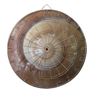sea shell photograph dartboard