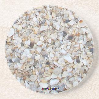 Sea Shell Sandstone Coaster