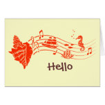 Sea Shell Song Greeting Cards