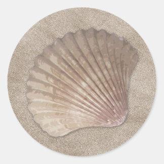 Sea Shell Stickers