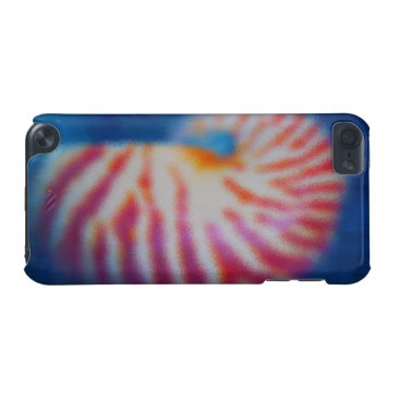 Beach Themed Sea Shell under Water iPod Touch (5th Generation) Cover