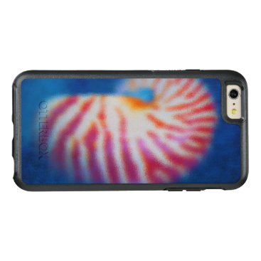 Beach Themed Sea Shell under Water OtterBox iPhone 6/6s Plus Case
