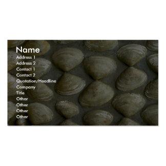 Sea-shell wall business card