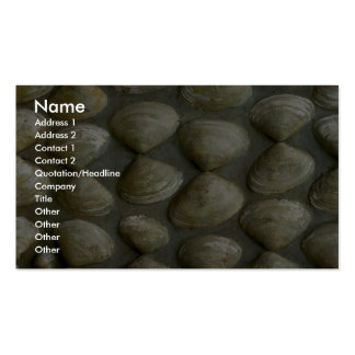 Sea-shell wall Double-Sided standard business cards (Pack of 100)