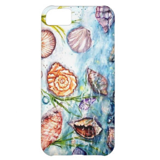 Sea Shell Watercolor painting iPhone 5C Cover