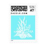 Sea Shell Wedding Stamp