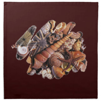 Sea shells American MoJo Napkin