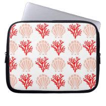 Sea Shells and Coral Electronics Bag
