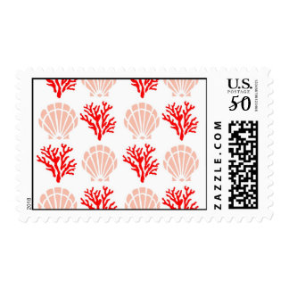 Sea Shells and Coral Postage