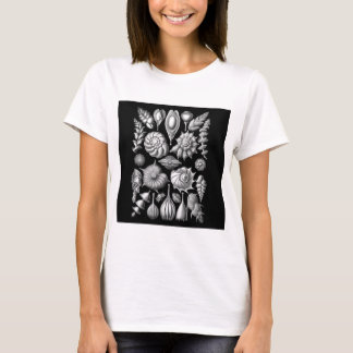 Sea Shells and Fossils in Black and White 1 T-Shirt