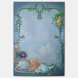 Sea Shells and Pearls Post-it® Notes
