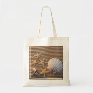 Sea Shells And Starfish Tote Bag