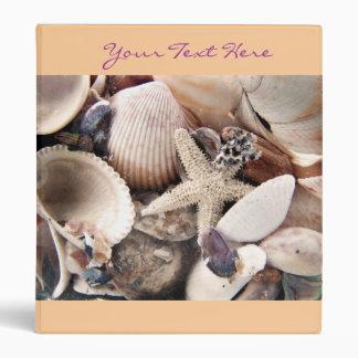 Sea Shells Binder