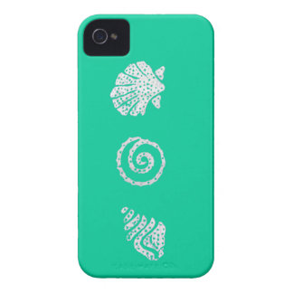 "Sea Shells Blackberry Bold ""Barely There"" Casemate iPhone 4 Case-Mate Case"